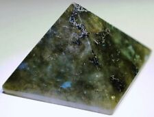Labradorite pyramid carving specimen,LA-A75,29x29x20mm,.65oz, 85.05ct