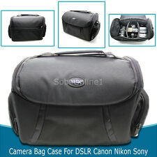 Camera Bag Case for Canon EOS Rebel DSLR T3i T3 T2i T5i T5 T4iT1i SL1 XSi Xs Xti