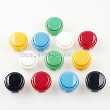 12x OEM 30mm Push Buttons Replace For Arcade Sanwa OBSF-30 Button Mame PC Games