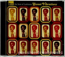 The Best Of Latimore SWEET VIBRATIONS UK 2004 Compilation CD OOP Rare MINT