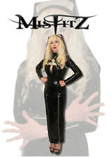MISFITZ PVC HOBBLE CRUCIFIX  NUNS UNIFORM + HEAD DRESS SIZES 8-32/ CUSTOM