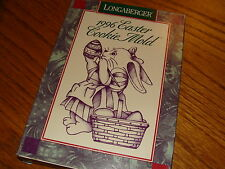 LONGABERGER POTTERY 1996 EASTER COOKIE MOLD SHORT STORY & RECEIPE