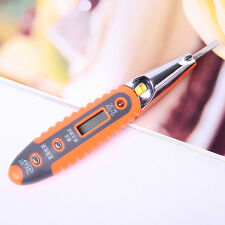 12-220V AC DC Digital Voltage Detector Tester Pen Electric Power Sensor Test New