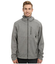 Spyder Men's Patsch Novelty Hooded GT Softshell  Ski Jacket, Size S, NWT