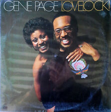 GENE PAGE - LOVELOCK - ATLANTIC LBL - 1974 LP  - STILL SEALED