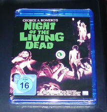 NIGHT OF THE LIVING DEAD  VON GEORGE A. ROMERO BLU RAY SCHNELLER VERSAND NEU