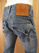 AUTHENTIC DON ED HARDY STRAIGHT LEG MEN JEANS SIZE 30 X 29 DISTRESSED VIC-THOR1