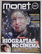 BRAZIL TV Guide Monet Magazine May 2015 Stephen Hawkin cover in portuguese