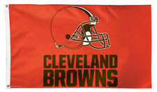 CLEVELAND BROWNS Huge 3'x5' DELUXE NFL Football Wincraft Team FLAG