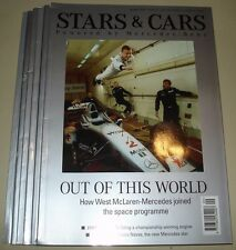 F1 DTM ITC IndyCar - Mercedes Benz Official Magazine Stars & Cars 6 issues 13-18
