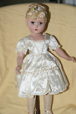 "Very Pretty Vintage 17"" Nancy Lee Hard Plastic Doll ""Cinderella"""