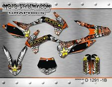KTM SX 85 graphics kit 2013 up to 2016 stickers Motocros