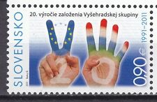 SLOVAKIA 2011 **MNH SC# ( )  Anniversary of the Foundation of the Visegrad Group