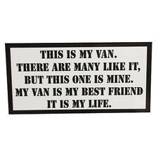 This is my Van Rifleman's Creed sticker USMC Full Metal Jacket by Seven 13