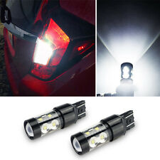 2pcs 50W 7443 7440 T20 CREE LED 6000K Super White Back Up Reverse Lights Bulb