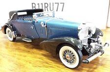 Franklin Mint Duesenberg J 1933 Victoria 1:24 Scale Die Cast B11RU77   A33