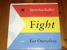 """SPANDAU BALLET *RARE 7"""" 45 ' FIGHT FOR OURSELVES ' 1986 EXC"""