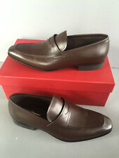 Salvatore Ferragamo Metro Auburn Calf loafers size 8 D new in box