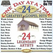 One Day at a Time: 24 Greatest Gospel Hits by Various Artists (Cassette, Dec-200