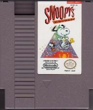 SNOOPY'S SILLY SPORTS SPECTACULAR NINTENDO GAME ORIGINAL CLASSIC NES HQ
