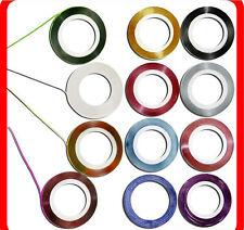 Nail RollsTape Strips 10 pcs Decoration Sticker Hologram Nail Rolls Art Supplies
