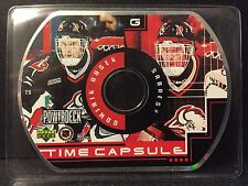 Dominik Hasek 1999-00 Upper Deck PowerDeck Time Capsule CD-Rom