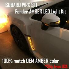 2015 - 2017 SUBARU WRX STI fender LED Turn Signal Light Kit (amber color)