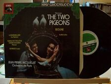 MESSAGER: The Two Pigeons Isoline + BERLIOZ PIERNE LALO   Jacquillat / EMI UK st