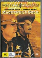 MACKENNA'S GOLD - GREGORY PECK - NEW DVD - FREE LOCAL POST