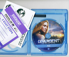 Divergent 2014 PG-13 action movie, new Blu-ray disc +Digital HD +case, No DVD