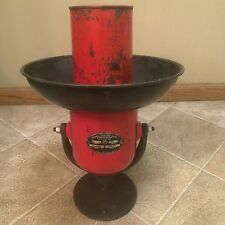 VINTAGE FEDERAL ELECTRIC FIRE ENGINE SIREN  WORKS  CAST IRON BASE 220 Volt WORKS