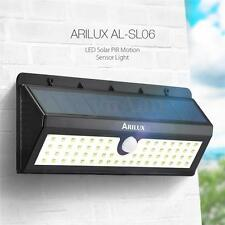 ARILUX Solar Powered 62 LED PIR Motion Sensor Security Wall Light Outdoor Lamp