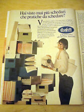 PUBBLICITA' ADVERTISING WERBUNG 1991 BUFFETTI (G2)