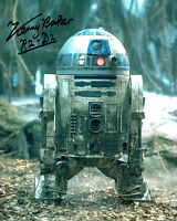 Kenny BAKER SIGNED Autograph Photo AFTAL COA R2-D2 Star Wars Image 1