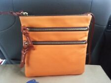 Dooney & Bourke North/South  Leather Triple Zip/ Free Shipping!