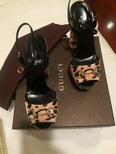 Gucci Pony Hair shoes