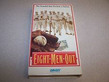 """""""Eight Men Out"""" VHS -ORION-1988-Charlie Sheen John Cusack"""