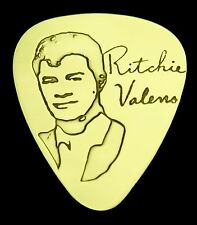 RITCHIE VALENS - Solid Brass Guitar Pick, Acoustic, Electric, Bass