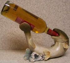 Wine Bottle Holder and/or Decorative Sculpture Trout Fish NIB