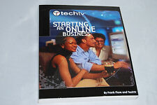 TechTV's Starting an Online Business by Frank Fiore (2001, Paperback)