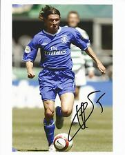 Genuine Hand Signed Autograph Photo Photograph CHELSEA Smertin 10 x 8""