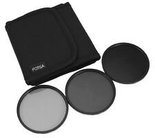 58mm Densidad Neutra ND2+ND4+ND8 Juego De Filtros ND2 4 8 Kit 3 PIEZAS/Lot+Pack