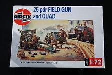 XM049 AIRFIX 1/72 maquette voiture 01305 25 pdr Fiel Gun and Quad NB 1993