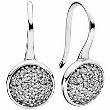 GENUINE AUTHENTIC PANDORA DAZZLING DROPLETS EARRINGS 290734CZ