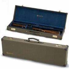 "Beretta 32"" Barrel O/U Canvas Leather Hard Case New 686 687 DT11 Over Under"