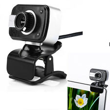 USB 12MP HD Pro Webcam Web Cam Camera with Microphone for Computer PC Laptop New