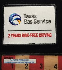 Patch ~ TEXAS GAS SERVICE 2 Years Risk Free Safe Driving Austin, TX 61C3