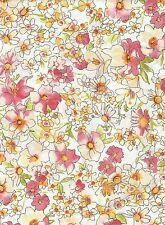 Tissu thermocollant Feuille A4 Fleur moyenne Iron-on patch Fabric Medium Floral