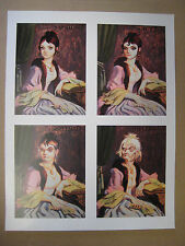 """Disney Haunted Mansion Changing Portrait Painting 11"""" X 14-1/4""""  Poster"""
