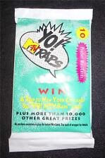 YO MTV RAPS TRADING CARDS 1991  Pack of 10 (10 cards per pack)